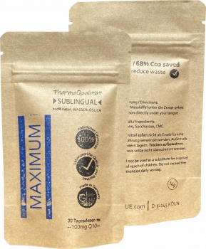 MAXIMUM Q10-granulat - Refill pack 30 days